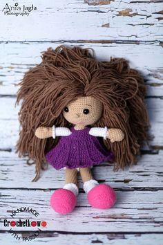 Amigurumi, doll, Crochetkowo, Zuzia