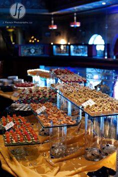 Cold hors d'oeuvres station: