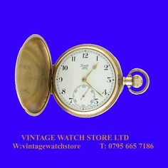Mint ww1 10k gold #limit hunter #pocket #watch 1918,  View more on the LINK: http://www.zeppy.io/product/gb/2/361776332311/