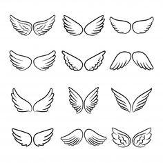 Entdecke tausende in AI- und EPS-Formaten verfügbare Premium-Vektoren Tiny Tattoos For Girls, Cute Tiny Tattoos, Mini Tattoos, Small Tattoos, Tattoos Skull, Animal Tattoos, Sleeve Tattoos, Doodle Tattoo, Poke Tattoo
