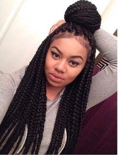 Trendy black braided updos for women. Best braided hairdos. Ideas about black braided hairstyles for long hair. Super hot Black braided hairstyle 2016.