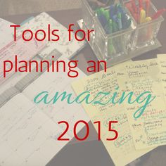 Helpful tools for planning an amazing 2015 - Tabitha Dumas Image and Influence Strategist