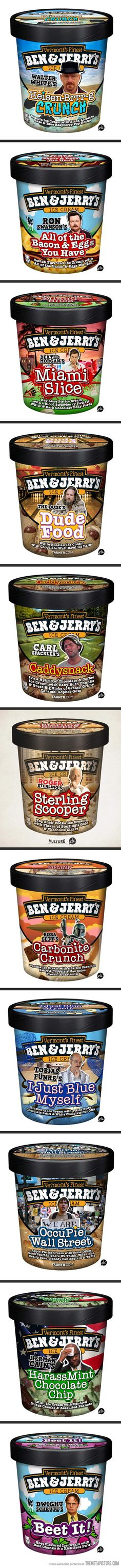 Funny pictures about Best Ice Cream Flavors of All Time. Oh, and cool pics about Best Ice Cream Flavors of All Time. Also, Best Ice Cream Flavors of All Time. Best Ice Cream Flavors, Ben And Jerrys Ice Cream, All About Time, Sweet Treats, Funny Pictures, Geek Stuff, Lol, Make It Yourself, Awesome
