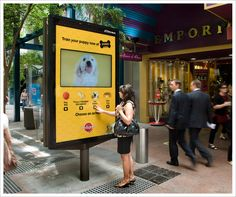 Train your puppy | interactive advertising