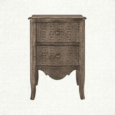 "Pressed Plume Tin side table at Arhaus. 21"" W X 17""D X 30""H $449"