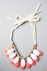 DIY bib necklace