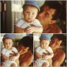 Dean and his son Dean Paul