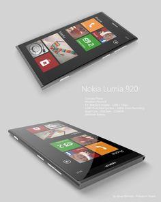 Nokia Lumia 920 concept