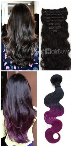 Solid color hair or ombre hair, here more choices for you! Cheers, #hair extension. Let's revel!!
