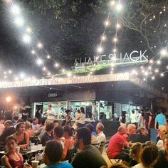 @jessaclark made a trip to Shake Shack... what screams summer more than a malted milk shake?