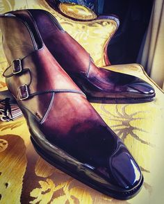 "bluscuro: ""Another image of a very special MTO for AK. @saintcrispins wizardry. #sartorial #menshandmadeshoes…"