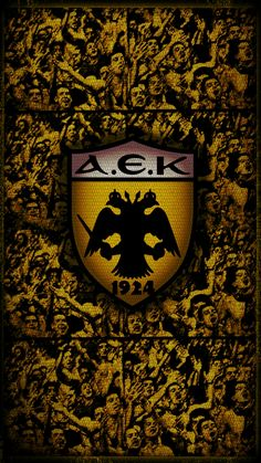 It's different being AEK. Football Mexicano, Cool Walls, Superhero Logos, Eagles, Badge, Symbols, The Originals, Soccer Teams, Sports