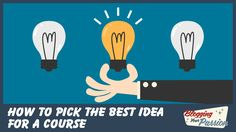 How to Narrow Down My Ideas for an Online Course  ||  How do I narrow down my ideas for an online course? Use our idea filter scorecard to help you select your best idea for an online course. http://bloggingyourpassion.com/narrow-down-my-ideas-for-an-online-course/?utm_campaign=crowdfire&utm_content=crowdfire&utm_medium=social&utm_source=pinterest