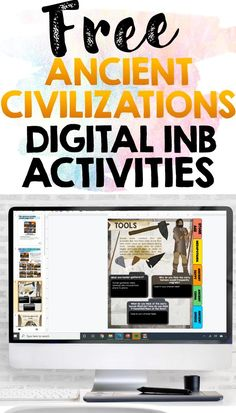 Ancient Civilizations Digital Interactive Notebook Activities Freebie Sampler This resource contains printables from Ancient Civilizations Interactive Notebooks Try these interactive notebook resources with your students for FREE! This product contains printables from The Stone Age, Mesopotamia, Ancient Egypt, Ancient China and Ancient Greece. Apps For Teaching, Teaching Aids, Student Teaching, Teacher Freebies, Teacher Blogs, Teacher Resources, Sixth Grade, Second Grade, Ancient Greece