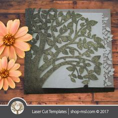 Laser cut invitations template free designs every day. Laser Cut Wedding Invitations, Invites, Laser Cut Invitation, Single Tree, Mothers Day Cards, Kids Decor, Laser Cutting, Free Design, Birthday Cards