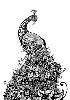 Love the intricate detail. Would do this in colour.