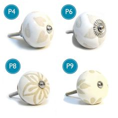 cream vintage cupboard knobs by pushka knobs | notonthehighstreet.com
