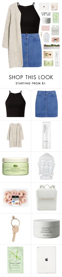 """""""rose"""" by rattle-the-stars ❤ liked on Polyvore featuring STELLA McCARTNEY, NARS Cosmetics, Origins, Maison Margiela, Byredo, H&M and Davines"""