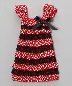 FREE SHIPPING Polka Dot Baby Satin  MInnie Mouse by LilahsTutus, $9.99