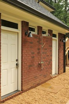 Outdoor Shower Design Ideas, Pictures, Remodel, and Decor - page 53 Outdoor Living, Outdoor Decor, Exterior Design, Showers, Design Ideas, Pictures, House, Inspiration, Home Decor