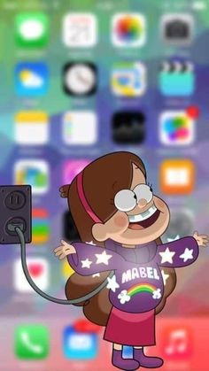 Imagen de mabel, wallpaper, and gravity falls