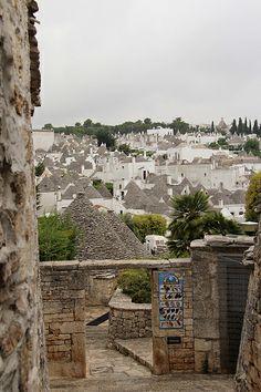 Panorama dei Trulli - Alberobello, Apulia, Italy Bari, Alberobello Italy, Stone Masonry, Dry Stone, Southern Europe, Sardinia, Sicily, Grand Canyon, Mount Rushmore