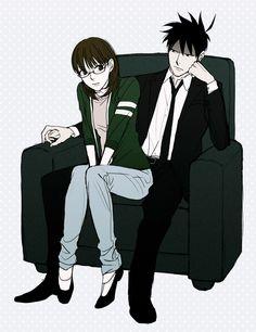 Yondemasuyo Azazel-san, Sakuma Rinko, Akutabe, Chair, Sitting On Chair