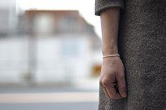 Keshi Pearl Bracelet by Lena Skadegard @Lena Skadegard