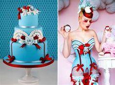 Fashion inspires cake!