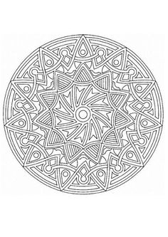 Mandala  51 worksheet