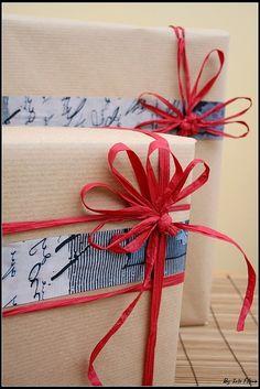 画像 : マスキングテープ×クラフト紙がオシャレ♡海外に学ぶラッピング実例集 - NAVER まとめ