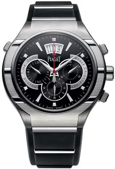 3d1f0ce3a44 g0a34002 Piaget Polo FortyFive Flyback Chronograph GMT 45mm Mens Watch