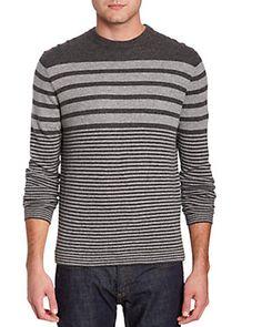 Forte Cashmere Smoke Cashmere Crew Neck Sweater