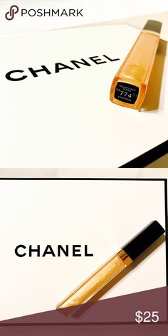 CHANEL - Gloss # 774 Excitation - New without box CHANEL - Gloss # 774 Excitation - New without box CHANEL Makeup Lip Balm & Gloss