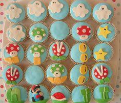 Super Mario cupcakes.