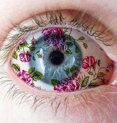 Imagem de blue, flowers, and cute