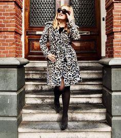 Diva-Iraida famous Dutch blogger wears Pantera coat, www.tessakoops.com