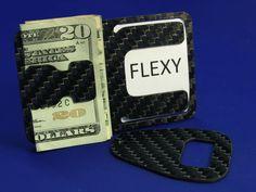 Flexy - Carbon Fiber Money Clip by Michael Sargent — Kickstarter
