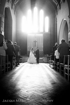 Stunning church wedding photography by Hampshire wedding photographers Jacqui Marie Photography