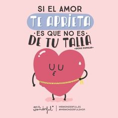 Si el amor aprieta, es que no es de tu talla @mrwonderful_