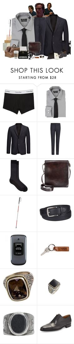 """[VISUAL] { why did you come to me first? }"" by morningstar1399 ❤ liked on Polyvore featuring Calvin Klein Underwear, Moleskine, Kenneth Cole, Joseph, Etro, Barneys New York, Patricia Nash, Columbia, Samsung and Effy Jewelry"