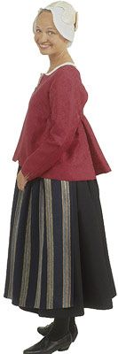 Traditional Finnish folk costume, a woman´s dress representing the region of Rantalakeus including several villages.