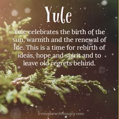 Yule: Celebrating the Return of the Sun and the Winter Solstice Winter Kids, Winter Christmas, Winter Holidays, Hygge Christmas, Christmas Tree, Pagan Yule, Pagan Witch, Yule Traditions, Winter Solstice Traditions