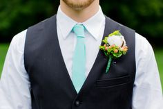 Mint Wedding Ties / Necktie for Men FREE GIFT (14.70 USD) by TheBestBoysTies