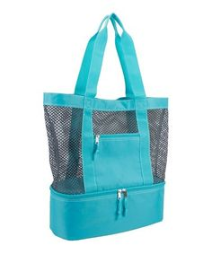 This Aqua Cooler Mesh Tote is perfect! #zulilyfinds