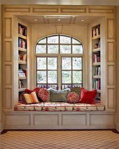 love this reading corner