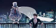 (Magic Kaito/Detective Conan) Kaito Kid and Shinichi