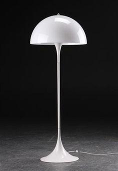 Lauritz.com - Modern belysning - Verner Panton. Panthella standerlampe - DK, Roskilde, Store Hedevej
