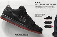 Nike x Levi's SB Janoski