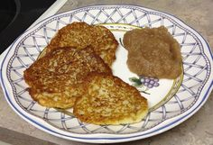 Whether you're celebrating Hanukkah or you just want to make these tasty potato treats, we have a super yummy vegan latke recipe for you! This vegan latke (potato pancake) recipe uses egg replacer. We used Ener-G egg replacerfor the vegan latkes we made in this photo, and we also chopped the potatoes in a blender…